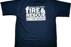 Australien-Capital-Territory-Fire-Brigade_ACT-Australien_Ruecken-T-Shirt