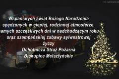 Ochotniza Straz Pozarna Biskupice Melsztynskie, Polen_Weihnachten 2015