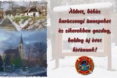 Cáki-Önkéntes-Tűzoltó-Egyesület_Cáki-tűzoltók-üdvözlete-Ungarn_Weihnachten-2019
