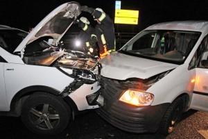 Erneut Unfall an der Autobahn