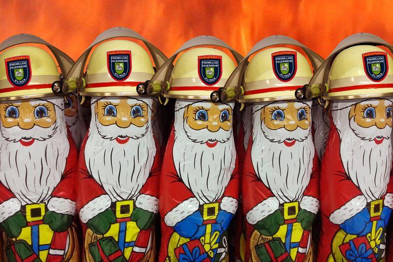 weihnachten freiwillige feuerwehr klinga