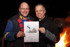 Gratulation 10 Jahre HV Grethener Störche