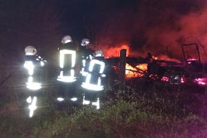 Brandeinsatz am Spitzberg